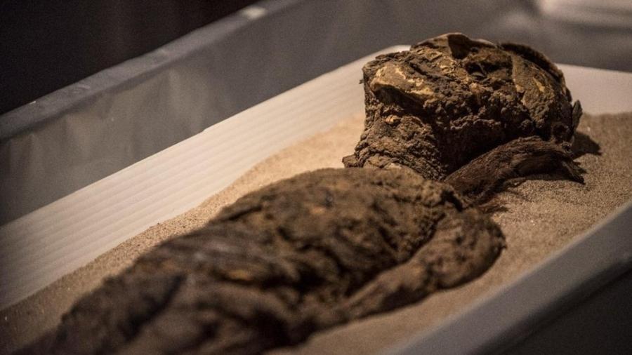 Múmias da cultura chinchorro foram incluídas na Lista do Patrimônio Mundial pela Unesco nesta semana - Imagen de Chile/Felipe Cantillana