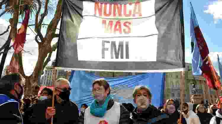 Argentina ainda tem dívida pendente com o fundo - Enrique Garcia/EPA - Enrique Garcia/EPA