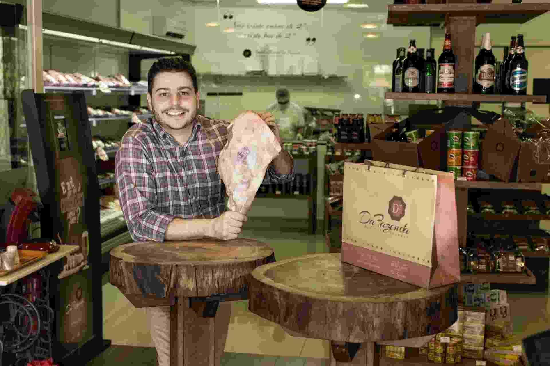 Lucas Ribas, da franquia Da Fazenda, açougue gourmet - Divulgação