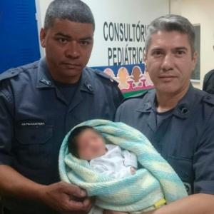 A criança foi levada para o pronto-socorro e está em boas condições de saúde