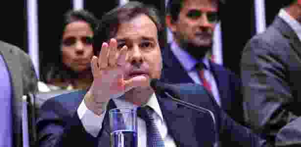 Rodrigo Maia deve anunciar ainda nesta terça a abertura de votação do pacote anticorrupção - Luis Macedo/Câmara dos Deputados
