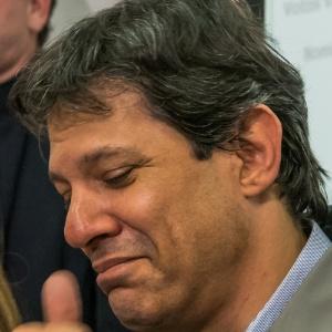 Haddad (foto) concedeu hoje a primeira entrevista dadaao lado de Doria após a eleição