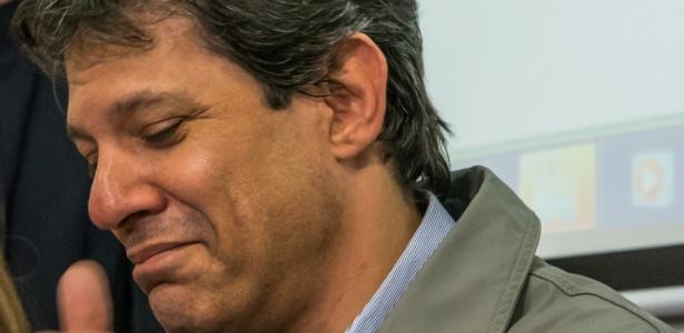 O prefeito de São Paulo, Fernando Haddad (PT)