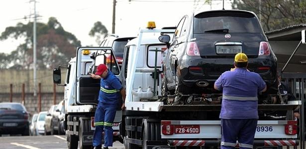 Taxa para retirar o carro guinchado em São Paulo é de R$ 576