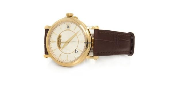 Presente nos 50 anos de Geddel Vieira Lima: Relógio Patek-Philippe, modelo Calatrava, avaliado em US$ 25 mil