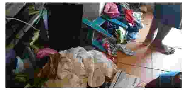 Rocinha casa revirada - Reprodução/Facebook - Reprodução/Facebook