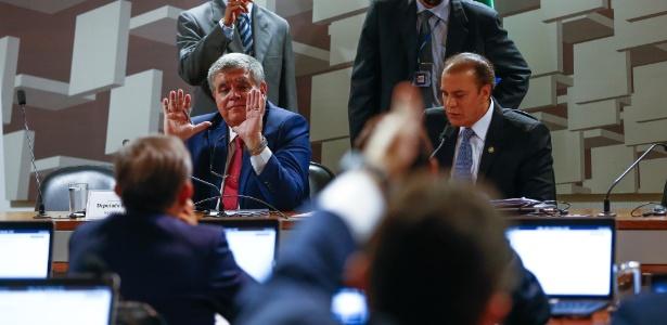 Deputado Carlos Marun (à esquerda) quase foi nomeado ministro - Pedro Ladeira/Folhapress