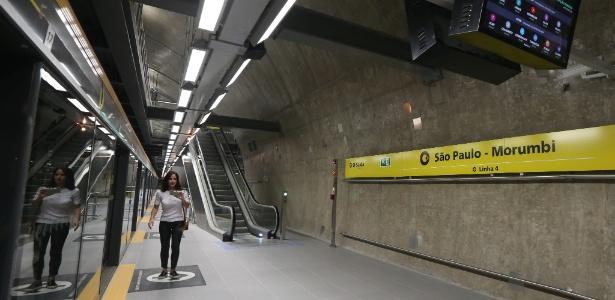 Estação da Linha 4-Amarela foi entregue à população no dia 27 de outubro de 2018