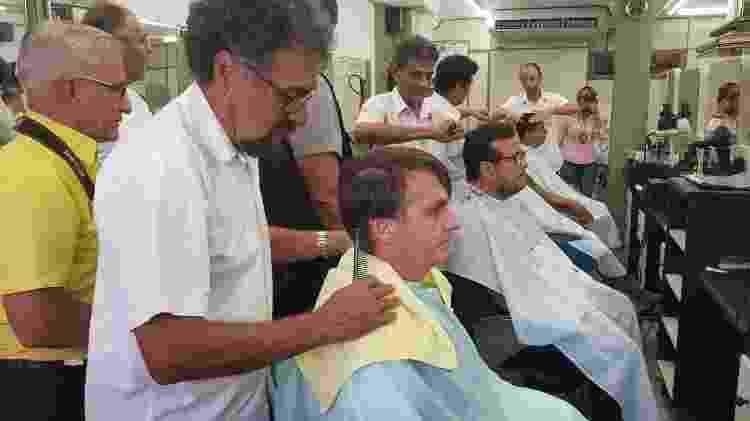Bolsonaro cabelo - Divulgação - Divulgação