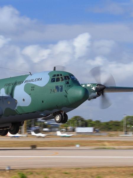 C-130 Hércules - Força Aérea Brasileira/Sargento Johnson
