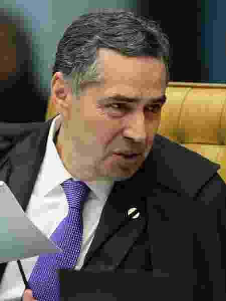 Ministro Luís Roberto Barroso vetou campanha contra isolamento social - Carlos Moura/STF