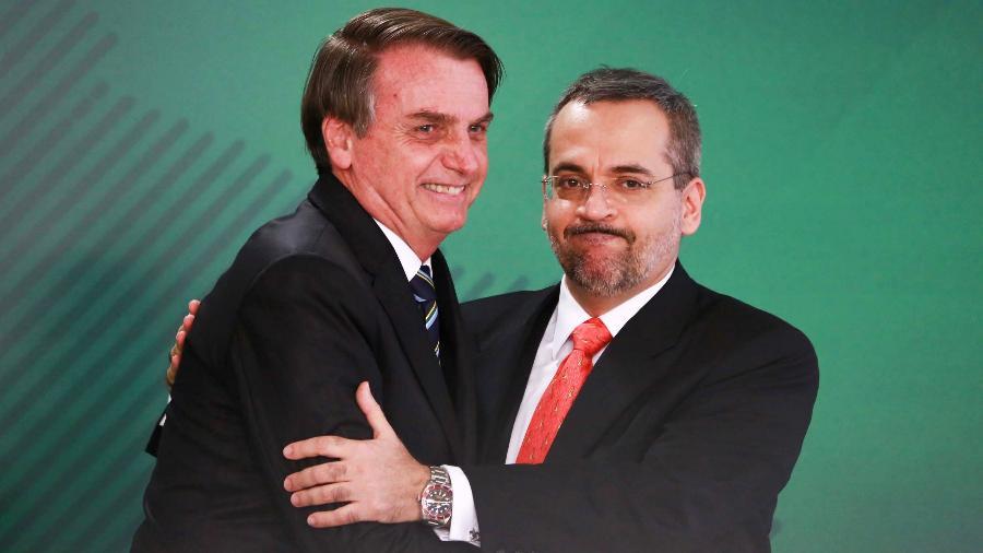 Recomendação do conselho foi para o presidente Jair Bolsonaro e o ministro da Educação, Abraham Weintraub; o texto também foi enviado para a pasta de Economia - Fátima Meira - 9.abr.2019/Futura Press/Estadão Conteúdo