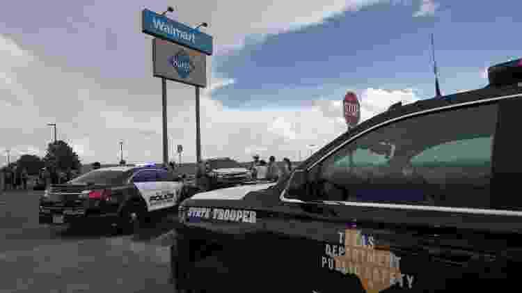 Supermercado Walmart, em El Paso - Mark Ralston/AFP - Mark Ralston/AFP