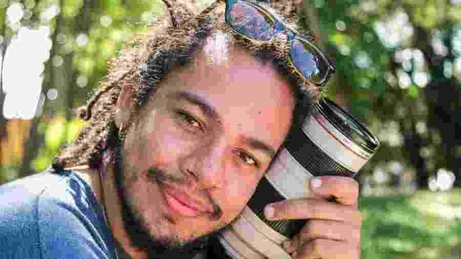 O motociclista - o empresário e produtor audiovisual Leandro Caproni, de 27 anos - morreu no local - Reprodução/Facebook/Leandro Caproni