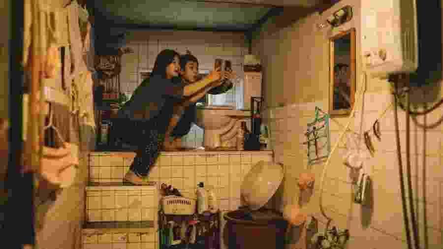 """Cena do filme sul-coreano """"Parasita"""", eleito um dos melhores do ano - Divulgação"""