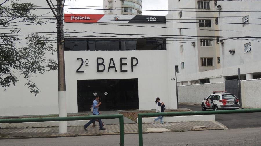 2º Baep (Batalhão de Ações Especiais de Polícia), da PM de SP, em Santos - Divulgação/OAB de Santos