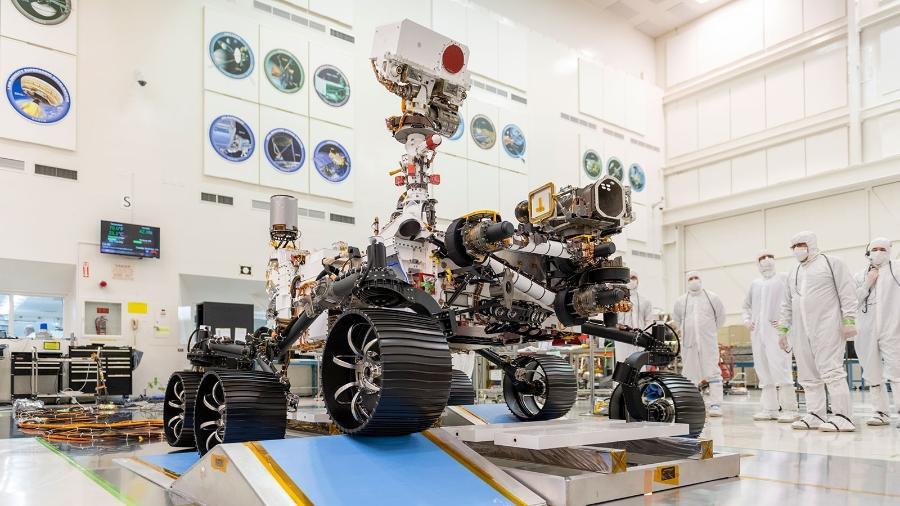 O rover Mars 2020 vai procurar sinais de vida em Marte - NASA/JPL-Caltech
