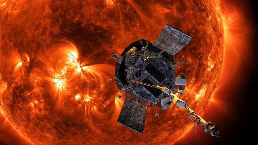Sonda solar Parker, da Nasa - Divulgação/NASA
