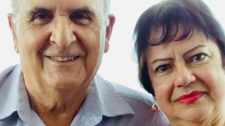 João Tavares, vice-presidente da Federação Latino-Americana de Padres Casados, e sua esposa, Sofia - Arquivo Pessoal