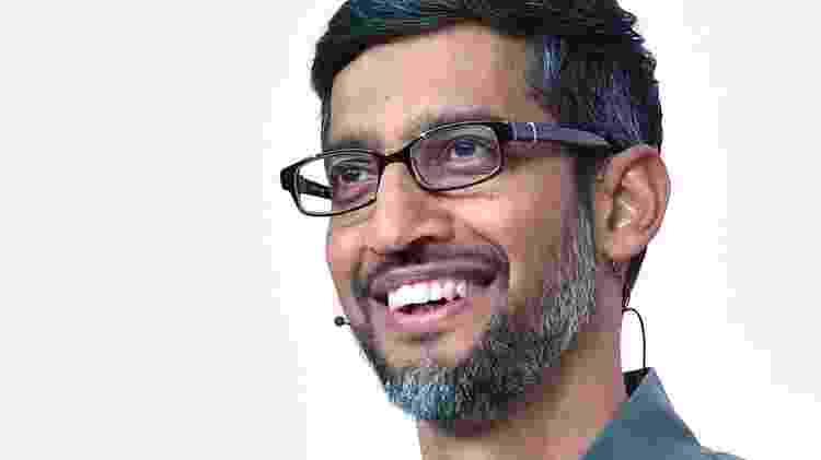 Sundar Pichai é o presidente-executivo da Alphabet - AFP