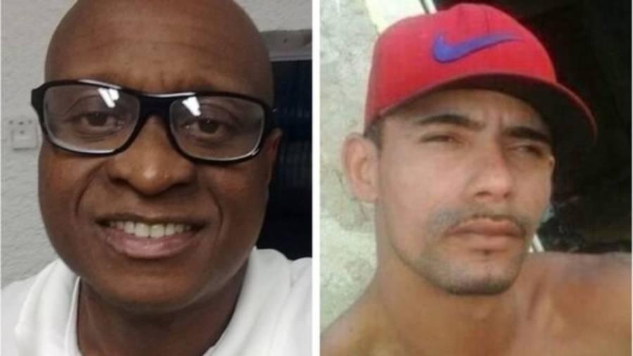 Evaldo Rosa dos Santos, 51, e Luciano Macedo, 27, mortos em ação militar no Rio - Reprodução