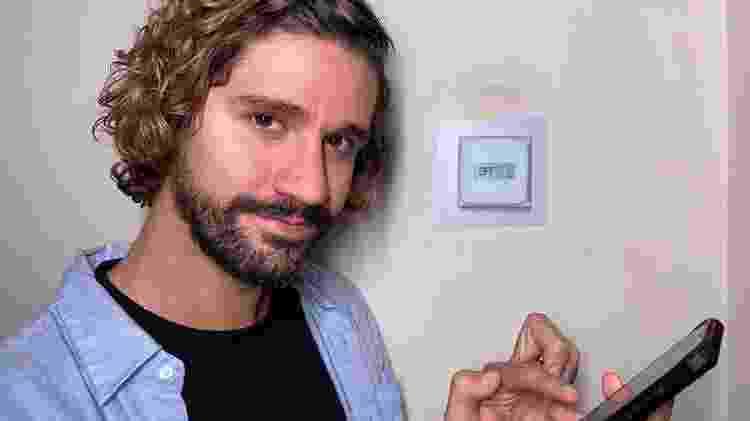 O influenciador Digital Gabe Simas, 32, tem uma casa 100% inteligente - Arquivo pessoal - Arquivo pessoal