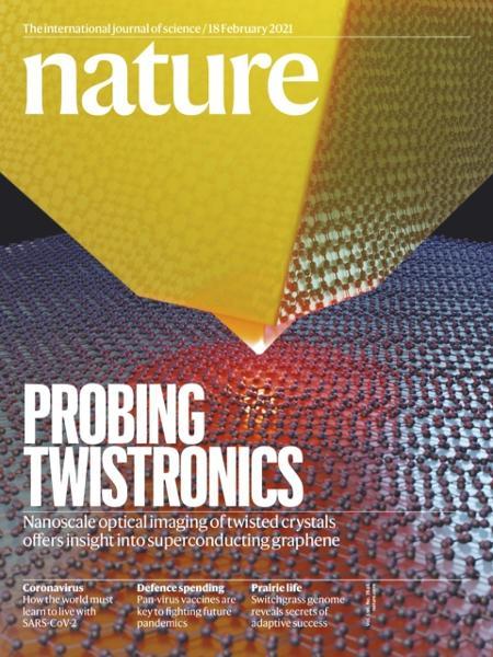 Capa da revista Nature - Reprodução