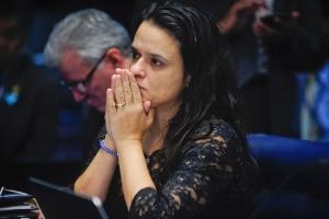 Bolsonaro diz que Janaina Paschoal voltou ao radar e pode ser sua vice (Foto: Moreira Mariz 29.ago.2016/Agência Senado)