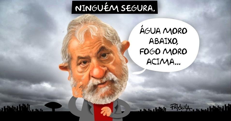 A situação de Lula caminha cada vez mais 'Moro' abaixo