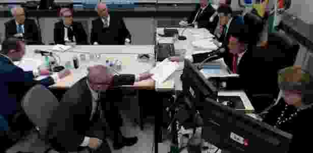 Interrogatório de Lula a Moro em 10 de maio de 2017 - Reprodução