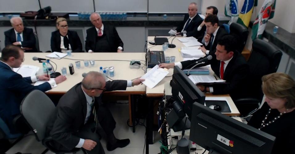 Outra câmera depoimento Lula Moro documento