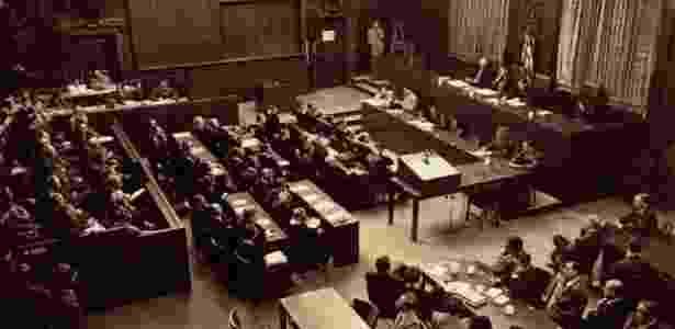 Executivos da I.G. Farben foram julgados em Nuremberg em 1947 - Reprodução