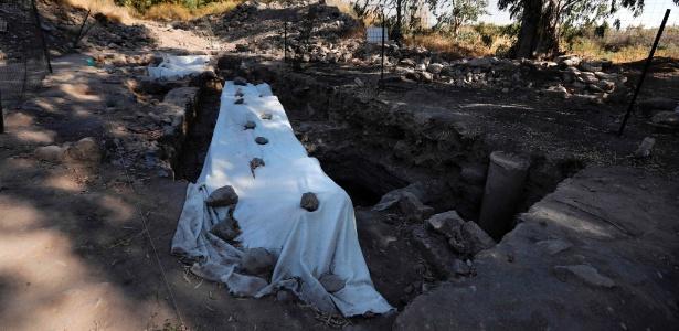 Arqueólogos israelenses encontraram nos arredores do Mar da Galileia, no norte de Israel, o local onde, de acordo com a tradição cristã, estiveram três dos apóstolos de Jesus