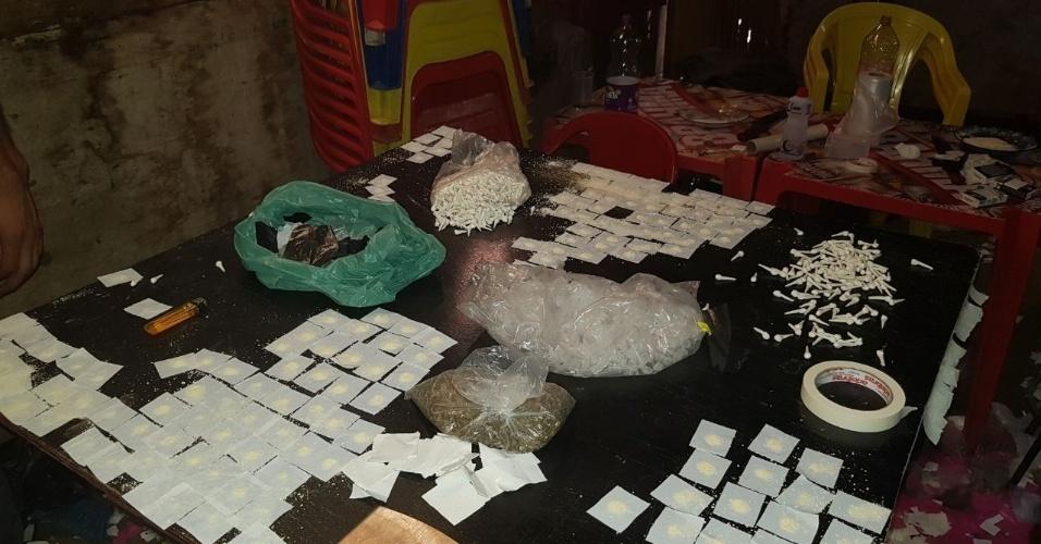 Rota afirma que descobre refinaria de drogas que abasteceria parte da zona leste de SP
