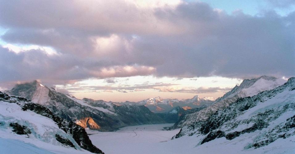 Jungfrau-Aletsch, nos Alpes suíços