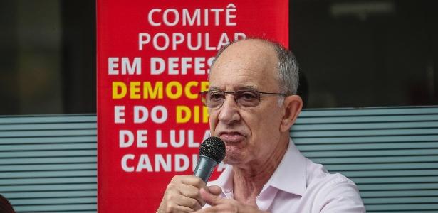 Em evento, Falcão também sugeriu que militantes contribuam financeiramente com o PT