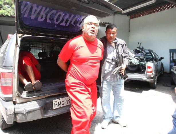 O traficante Roni Peixoto, em imagem de novembro de 2010