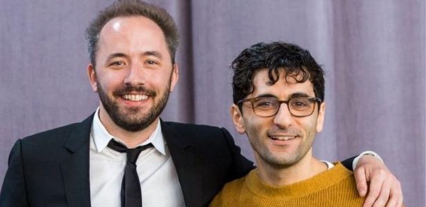 Drew Houston (à esquerda) não conhecia Arash Ferdowsi até lançarem juntos o Dropbox - Divulgação/Dropbox