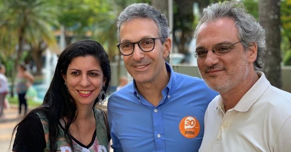 23.out.2018 - Romeu Zema faz campanha em Uberlândia (MG)