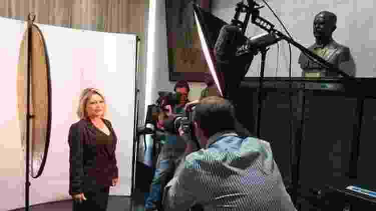Foto da foto oficial para o Senado - Katiana Pereira/Assessoria de Imprensa/BBC