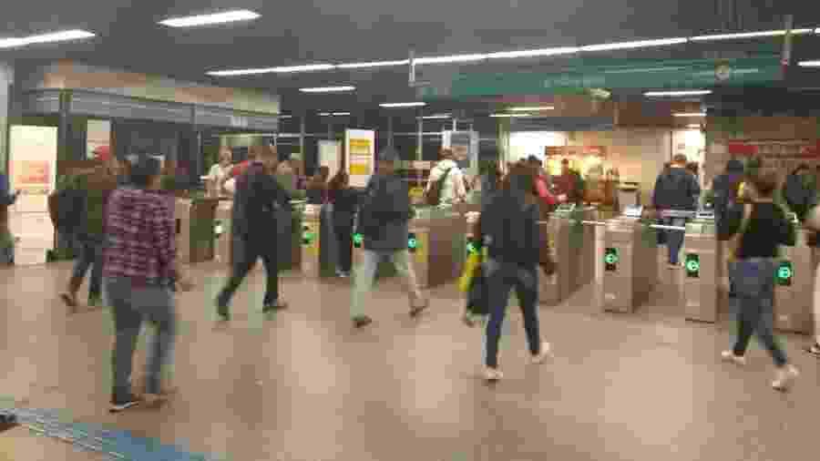 Estação Grajaú, da Linha 9 -- Esmeralda da CPTM - Talita Marchao/UOL