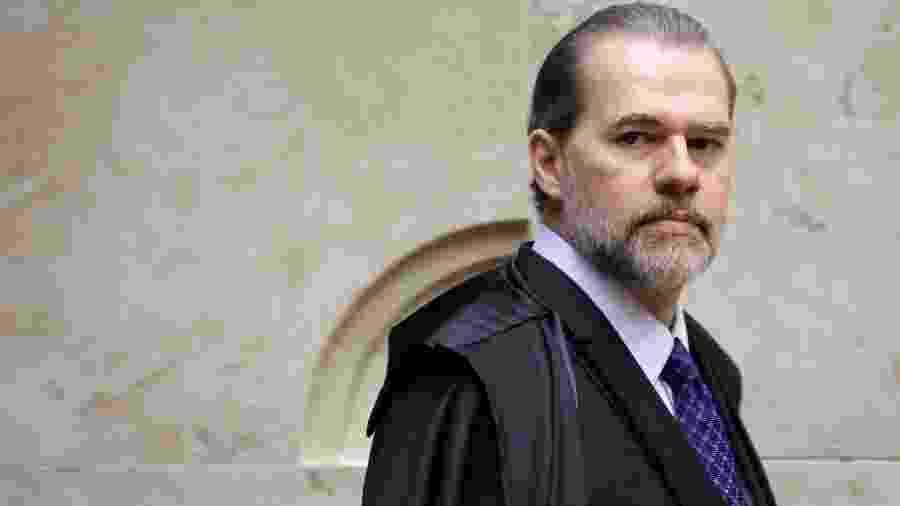 7.nov.2019 - Ministro Dias Toffoli, presidente do STF, durante julgamento sobre prisão após segunda instância - FÁTIMA MEIRA/FUTURA PRESS/ESTADÃO CONTEÚDO