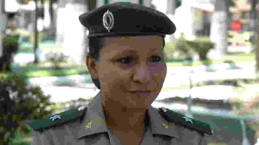 A 2ª tenente do Exército Sílvia Nobre Waiãpi, atual secretária especial de saúde indígena do ministério da Saúde - Divulgação/Exército