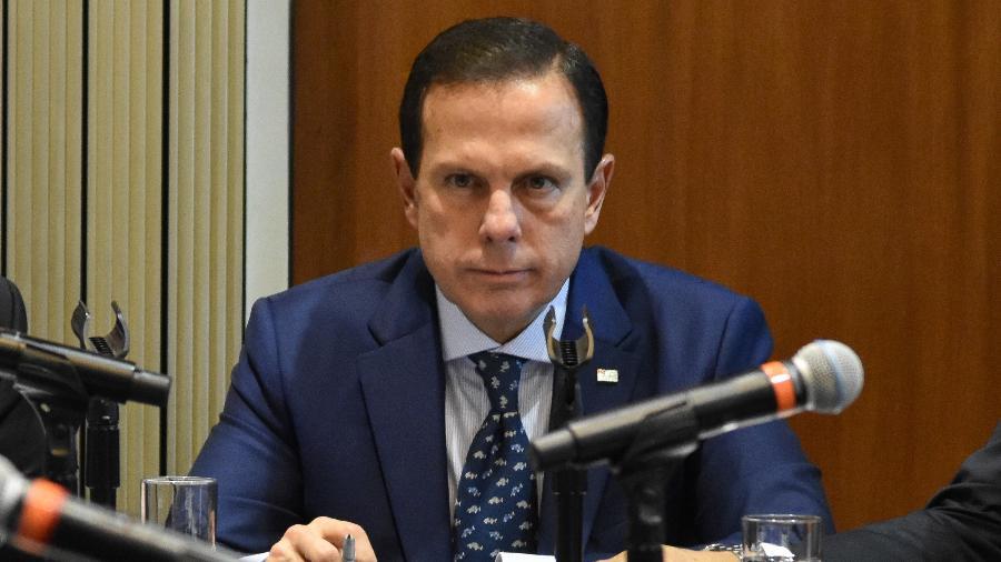 João Doria (PSDB), governador de São Paulo - ROBERTO CASIMIRO/FOTOARENA/ESTADÃO CONTEÚDO