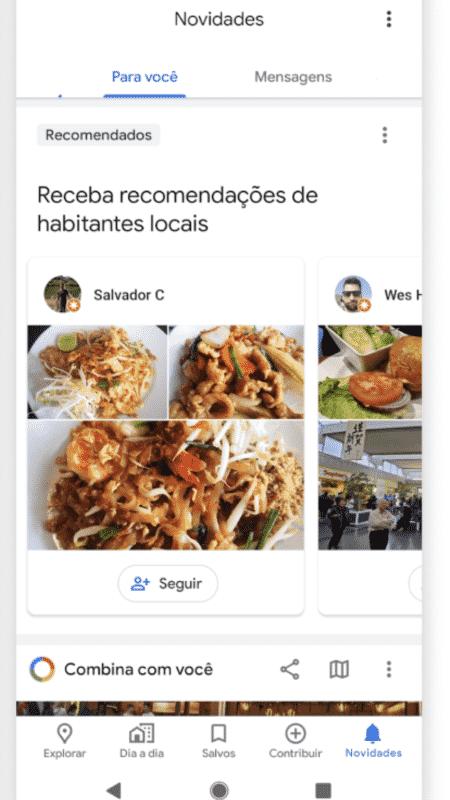 Maps: novidades - Divulgação/Google - Divulgação/Google