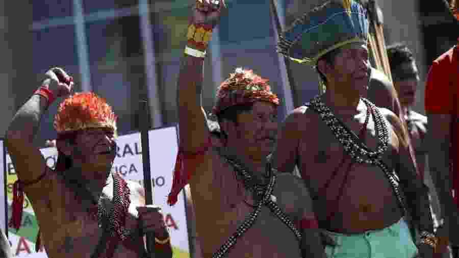 Indígenas munduruku pedem o fim do garimpo ilegal em suas aldeias - Agência Brasil