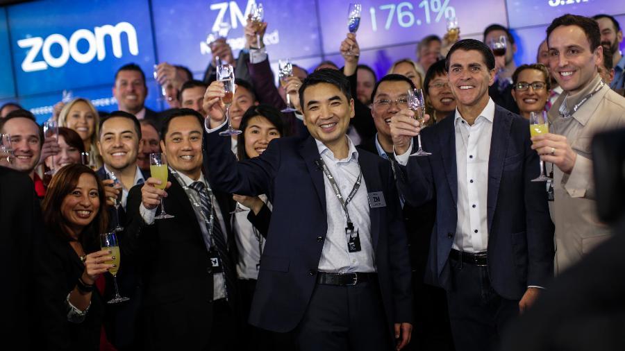 Eric Yuan, o bilionário criador da Zoom - Getty Images