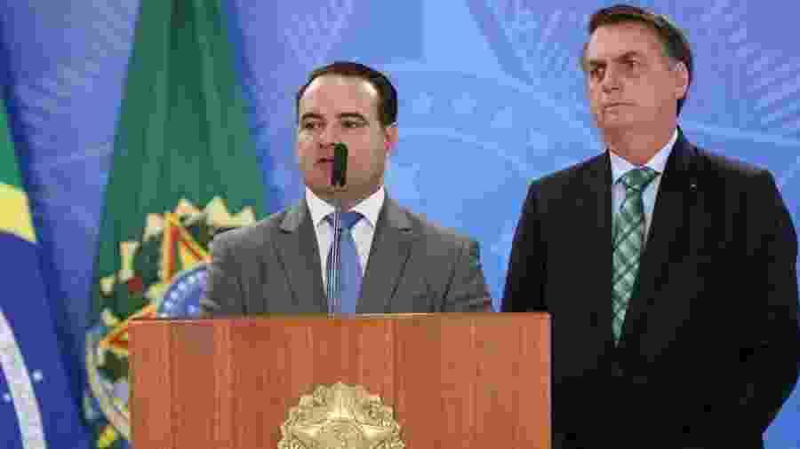 21.jun.2019 - Jorge de Oliveira, ao lado do presidente Jair Bolsonaro - Marcos Corrêa/Divulgação/Presidência da República