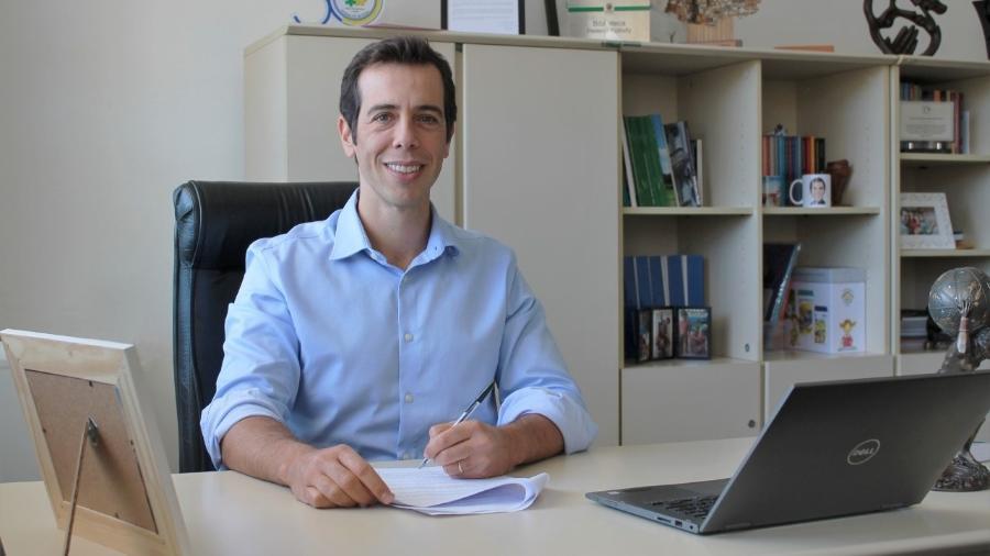 O secretário estadual de Educação do Paraná, Renato Feder, cotado para assumir o MEC - Divulgação