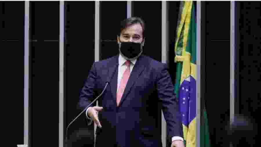 O presidente da Câmara dos Deputados, Rodrigo Maia diz que debate sobre obrigatoriedade da vacina deve ser do poder Executivo e Legislativo  - Agência Câmara